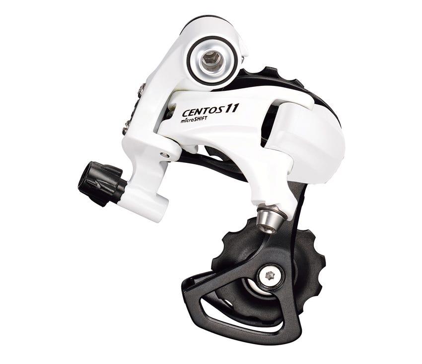 Microshift Centos 11 Speed Rear Derailleur - White